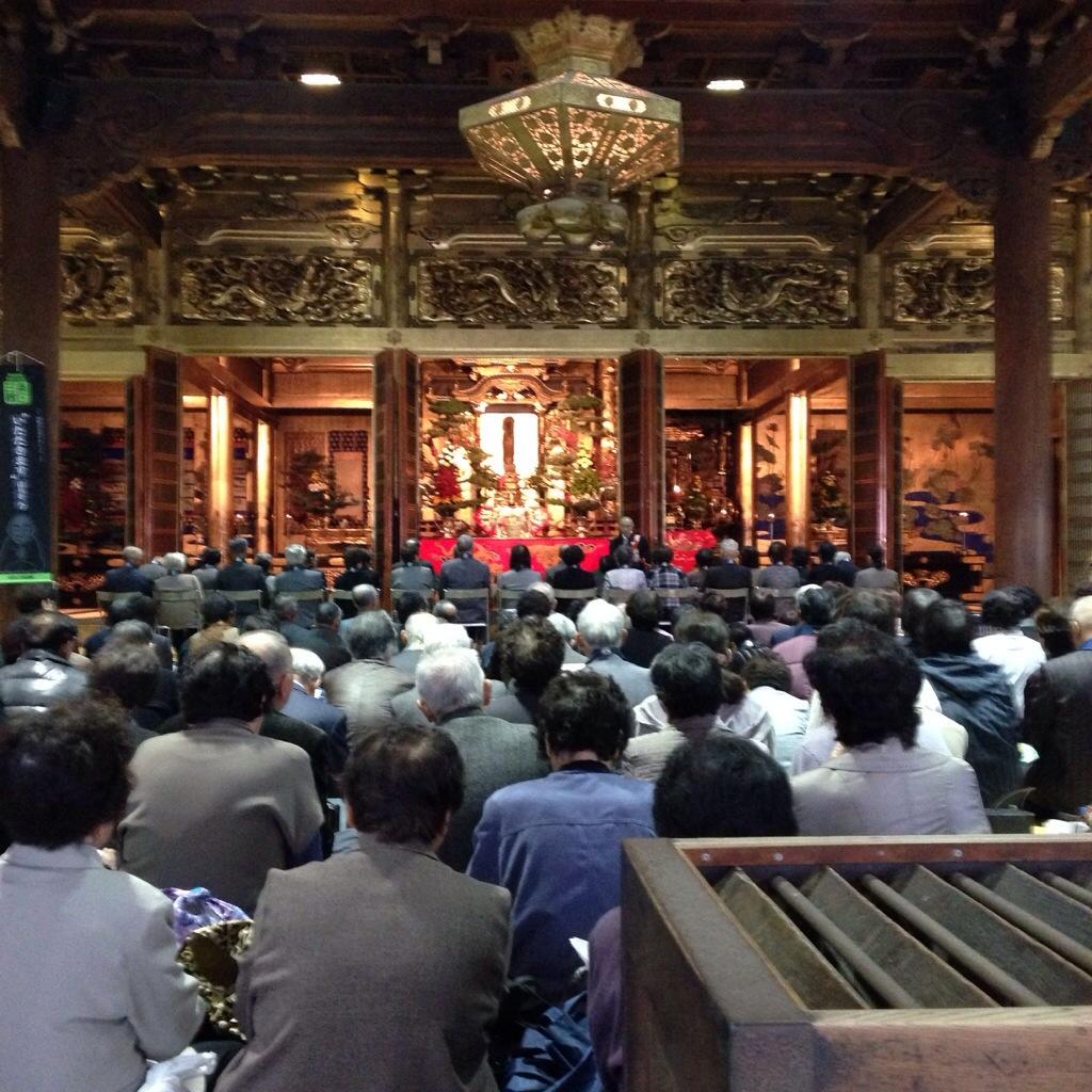 三条別院の報恩講へ団体参拝