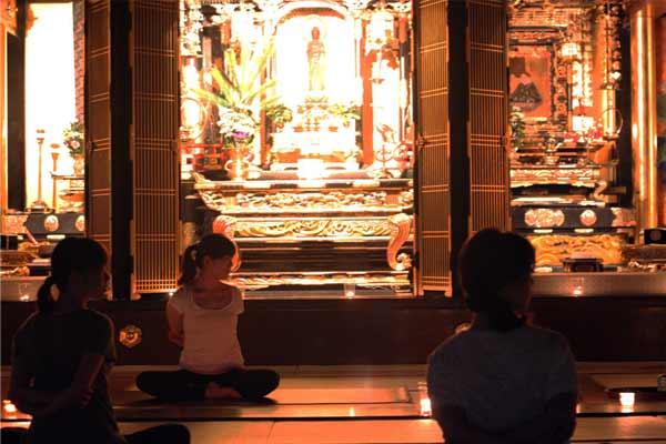 6月度寺ヨガのご案内