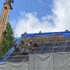 本堂改修工事報告20200517